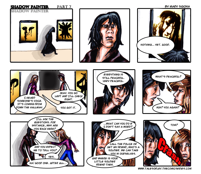 Shadow Painter: Part 7
